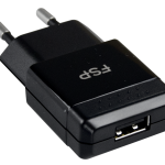 USB Charger 2.1A 3D Black