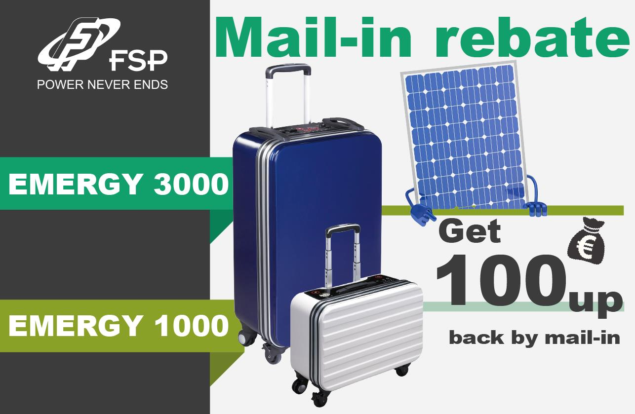 Come to get up to €150 Rebate!