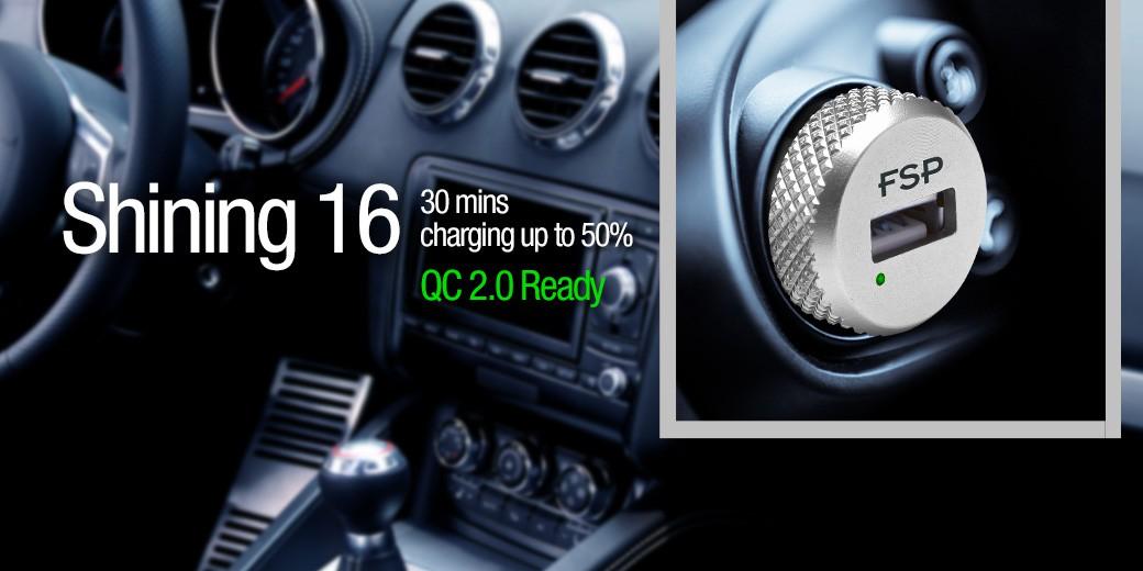 Shining 16 QC 2.0 car charger